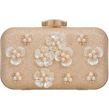 3d9a93b46742d spoločenská kabelka s kvetmi K-TL853 zlatá
