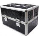 Kozmetický kufrík Top-Nechty čierny Kozmetický kufor s 3D vzorom 5657