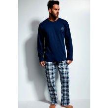 0cc648050cce Cornette Great pánské pyžamo dlouhé tm.modré