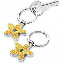 bbc41be37 Prívesok na kľúče Troika Rozvlnený kvet žltá alternatívy - Heureka.sk