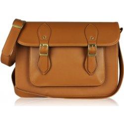 09253e6f7a kabelka kožená aktovka s prackami crossbody hnedá alternatívy ...