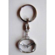 Prívesok na kľúče kovová Mazda