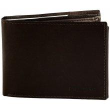 Pánska kožená peňaženka Ex - tmavohnedá