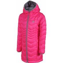 Alpine Pro dievčenský kabát Alanzo ružový