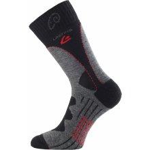 Lasting TWA 809 šedá merino ponožky 8737cad807