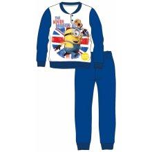Disney by Arnetta Chlapčenské pyžamo Mimoni modré