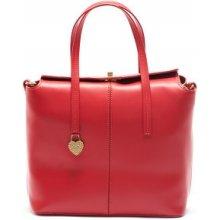 Mangotti kožená kabelka 387 Rosso