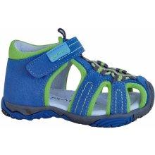 349a3c833aceb Protetika Chlapčenské sandále Sid modro-zelené