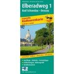 PublicPress Radwanderkarte Elberadweg, 23 Teilktn.. Tl.1