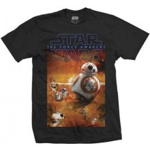 Star Wars Episode 7 BB-8 Composition T Shirt