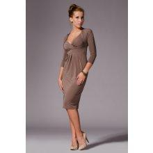 Figl dámske šaty M018 mocca