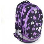 fe370a28f6 Explore taška BAG Girls Purple   biela hearts on čierna 3