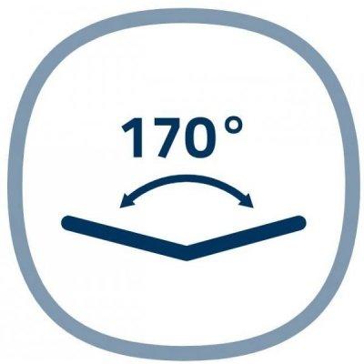 Širokouhlý 170° záber