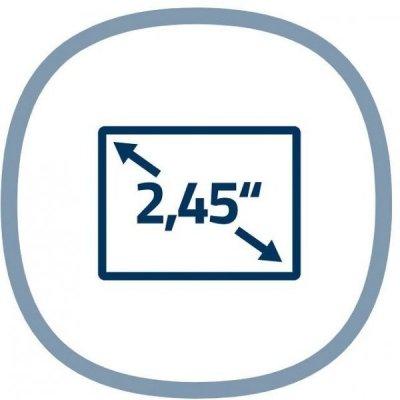 Intuitívne ovládanie cez 2,45palcový displej