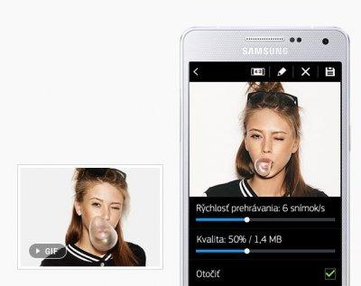 Animujte snímky na obrázky GIF