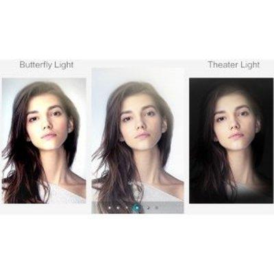 Osvetlenie 3D portrétu
