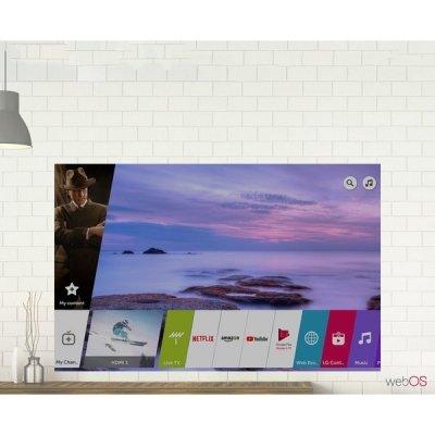Široká škála funkcií inteligentného televízora