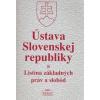 Ústava Slovenskej republiky a Listina základných práv a slobôd (-)