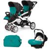 CASUALPLAY - Set kočík pre dvojičky Stwinner, 2 x autosedačka Baby 0plus a Bag 2015 - ALLPORTS