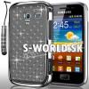 Zadný kryt Samsung Galaxy Ace 2 - Chrome Diamant šedá