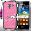 Zadný kryt Samsung Galaxy Ace 2 - Chrome Diamant svetlo-ružová