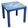 Detský záhradný nábytok - Plastový stôl (Modrá)