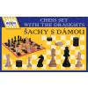 DETOA Drevené šachy s dámou