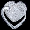 Silver.ag Prívesok strieborný, srdcia P0703