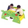 WORKER delfín detská hojdačka+stolček