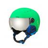 8e9c45e65 Detská lyžiarska prilba so štítom Bollé Quiz Visor Matte Green XXS(49/52)