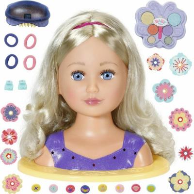 Zapf Creation BABY Born Bábika Staršia sestrička česacia hlava 824788