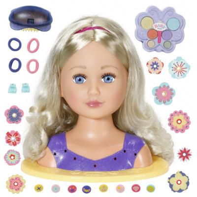 Zapf Creation BABY born 828694 Česacia hlava staršia sestrička