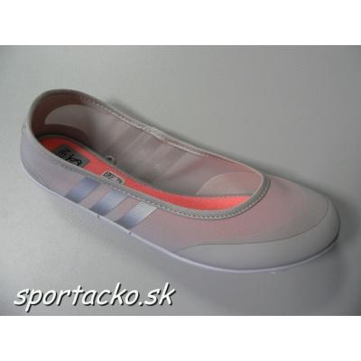 Balerínky Adidas Sunlina by Selena Gomez 6.5 pearl grey/blush pink