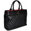 Dámska kabelka PABIA 9155 - čierno-červená