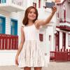 83aed719eccd Dievčenské pruhované letné šaty Mayoral