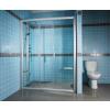 RAVAK Rapier NRDP4-200 sprchové dveře posuvné, white Grape 0ONK0100ZG