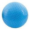SAGGIO FIT - Fitness masážna lopta modrá 65 cm vrátane pumpičky
