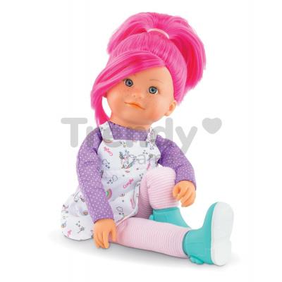 Bábika Nephelie Rainbow Dolls Corolle s hodvábnymi vlasmi a vanilkou ružová 38 cm od 3 rokov CO300020