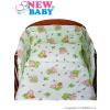 2-dielne posteľné obliečky New Baby 90120 cm zelené s medvedíkom