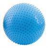 SPOKEY SAGGIO FIT - Fitness masážna lopta modrá 65 cm vrátane pumpičky