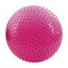 SPOKEY SAGGIO FIT Fitness masážna lopta ružová 65 cm vrátane pumpičky K832321