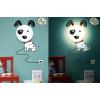 Detská lampa s nálepkou Roztomilý psík JP-HYQD001