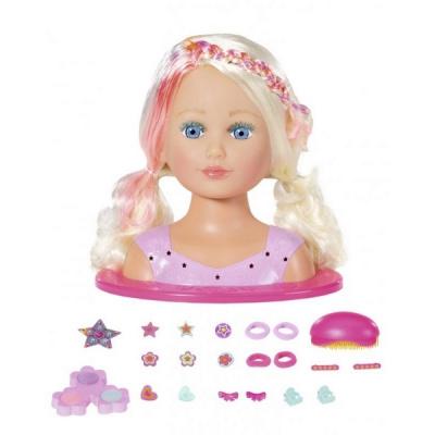 Starší sestřička BABY born Česací hlava s barevnými křídami - Zapf Creation Baby Born Česací hlava s barevnými křídami Starší sestřička
