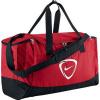 Športová taška NIKE CLUB TEAM DUFFEL - L `15 651 - červená / čierna
