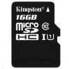 Kingston 16GB Micro SecureDigital (SDHC) Card, Class 10 UHS-I
